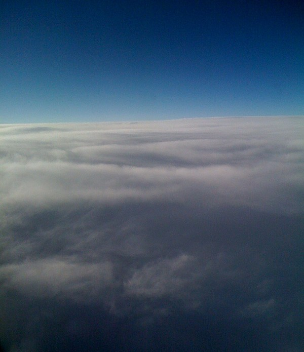 Cloud Photograph - Above The Clouds by Veronica Trotter