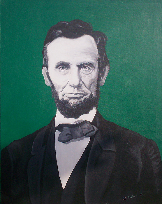 Abraham Lincoln Painting - Abraham Lincoln  by Gary Hogben