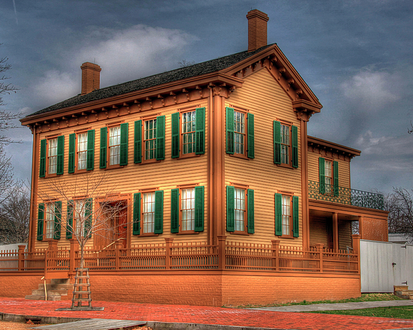 Lincoln home springfield il pictures.