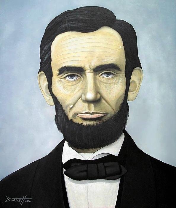 Abraham Lincoln Painting - Abraham Lincoln by Mark Barnett
