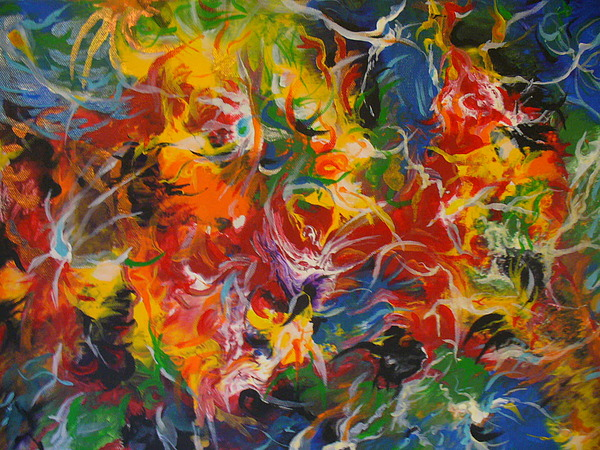 Abstract Painting - Abs 21 by Raza Mirza