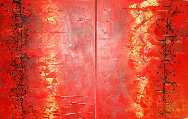 Abstrac Painting - Abstrac 1 by Lalo Gutierrez