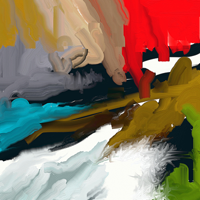 Abstract 010 Painting by MJ Alhabeeb