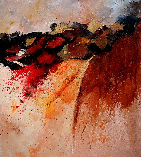 Abstract Painting - Abstract 010607 by Pol Ledent