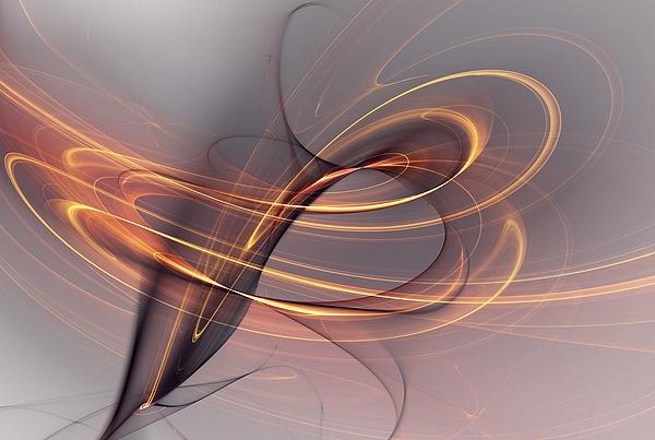 Abstract Digital Art - Abstract 090411 by David Lane