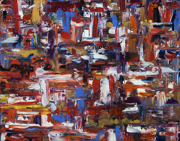 Abstract Painting - Abstract 28965 by Brad Rickerby