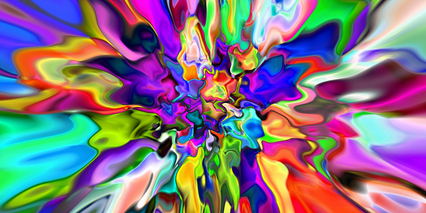 Abstract Digital Art - Abstract 373 by Rolf Bertram