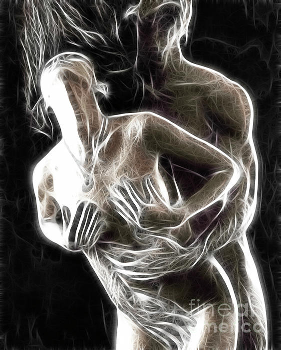 Sex Photograph - Abstract Digital Artwork Of A Couple Making Love by Oleksiy Maksymenko
