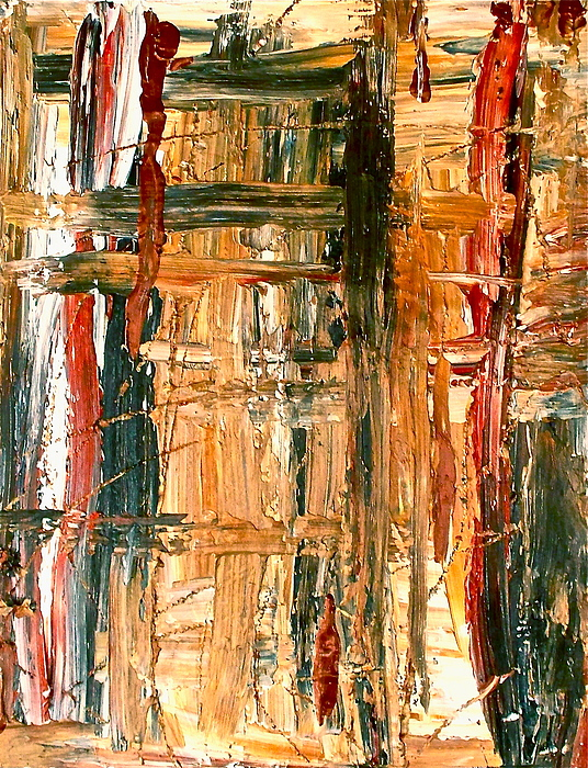 Abstract Painting - Abstract  by Jennifer Addington