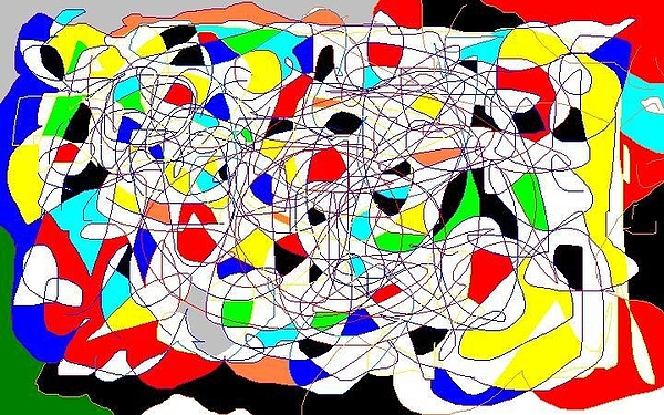 Abstract Digital Art by Miller Scoville