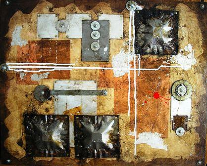 Modern Mixed Media - Abstract Study Two by Daniel Henigman