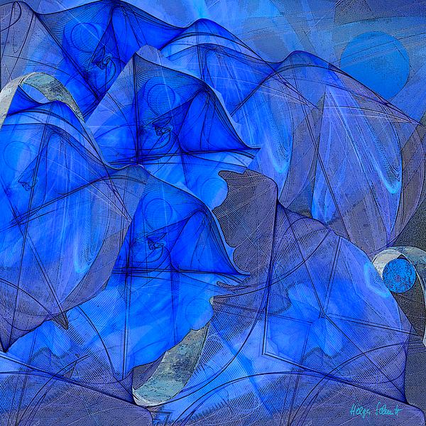 Abstraction 85 Digital Art by Helga Schmitt