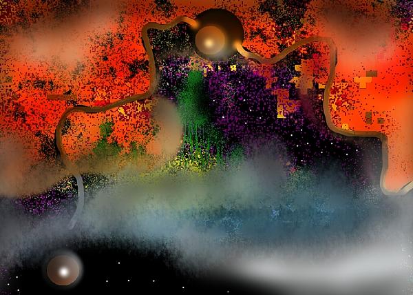 Abstraction Np06 Digital Art by Oleg Trifonov