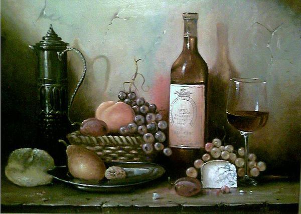 Still-life Painting - Abundance by Alexander Fomin