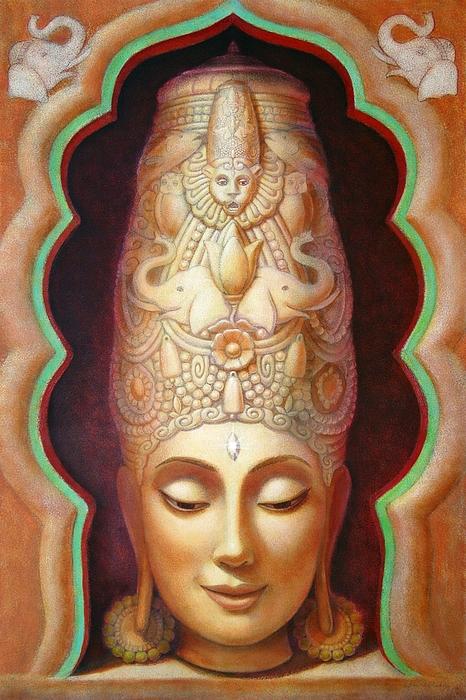 Meditation Painting - Abundance Meditation by Sue Halstenberg