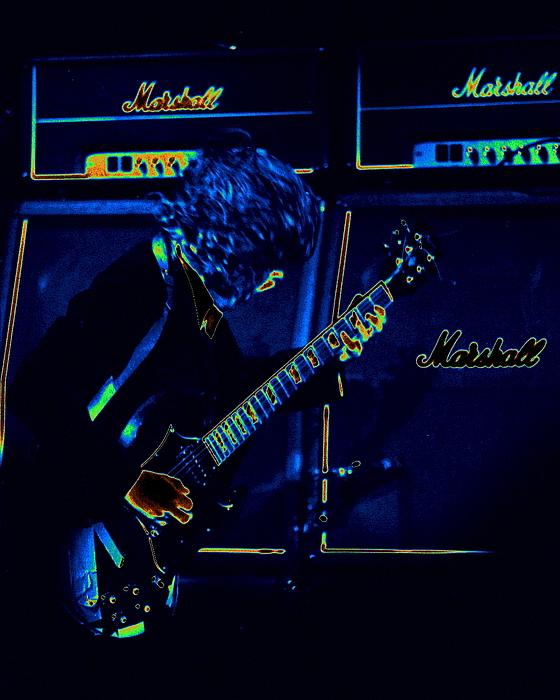 Ac Dc Photograph - Ac Dc Electrifies The Blues by Ben Upham