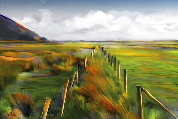 Achill Island Painting - Achill Island - West Coast Ireland by Bob Salo
