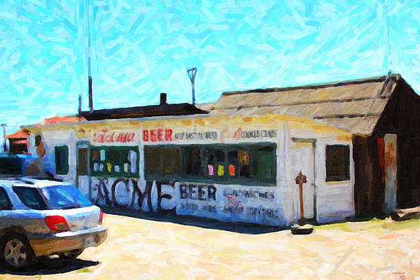 Shack Photograph - Acme Beer At The Old Lunch Shack At China Camp by Wingsdomain Art and Photography
