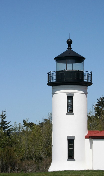 Coupeville Photograph - Admiralty Head Lighthouse Li2001 by Mary Gaines
