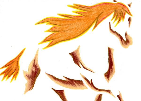 Horse Mixed Media - Adobe Dance by Mark Schutter