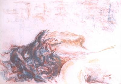 Nude Painting - Adormecer by Marcello Romeiro