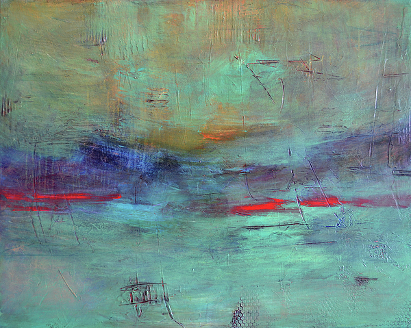 Seascape Painting - Adrift by Filomena Booth
