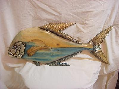 African Pompano-sold Mixed Media by Lisa Ruggiero