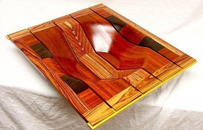 African Tulipwood Mixed Media by Mark Placek