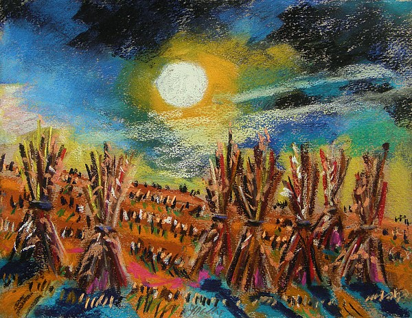 Moon Painting - After Harvest Night by John Williams