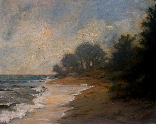 Seascape Painting - After The Storm by Jan Blencowe