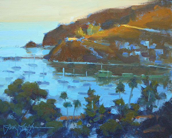 California Painting - Afternoon In Avelon Catalina by Frank LaLumia