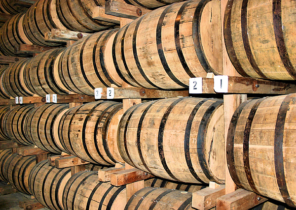 Barrel Photograph - Aging The Whisky by Kristin Elmquist