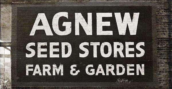 Agnew Photograph - Agnew Seeds Roanoke Virginia by Teresa Mucha