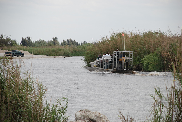 Everglades Photograph - Airboat Rides 25 Cents by Rob Hans