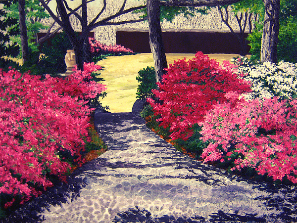 Landscape Painting - Alabama To The Wedding Garden by Beth Parrish