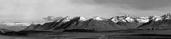 Alaska Photograph - Alaska Range Left Panel by Peter J Sucy