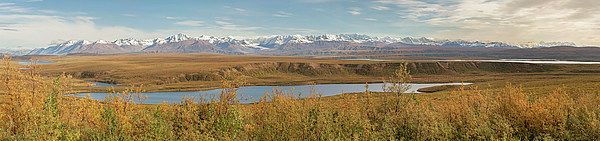 Mountains Photograph - Alaska Range by Peter J Sucy