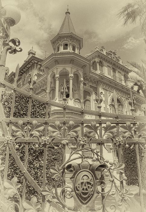 Heliopolis Photograph - Albert Chamas Villa by Nigel Fletcher-Jones