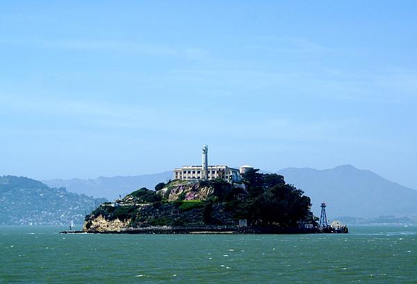 Historic Landmark Photograph - Alcatraz Island by Sonja Anderson