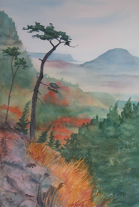 Early Morning Painting - Algoma Morning  by Debbie Homewood