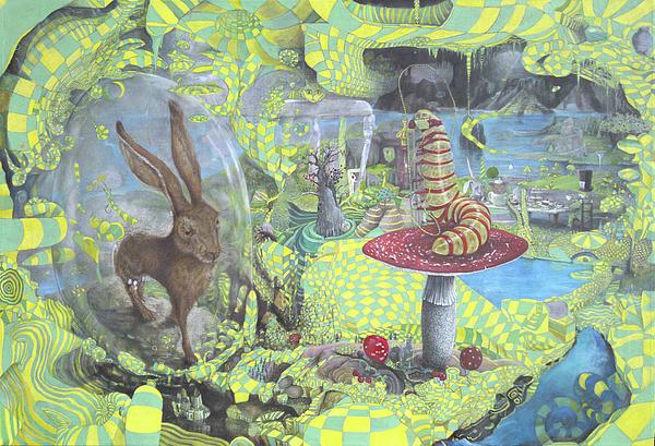 Alice In Wonderland Painting - Alice by John Anthony Edginton
