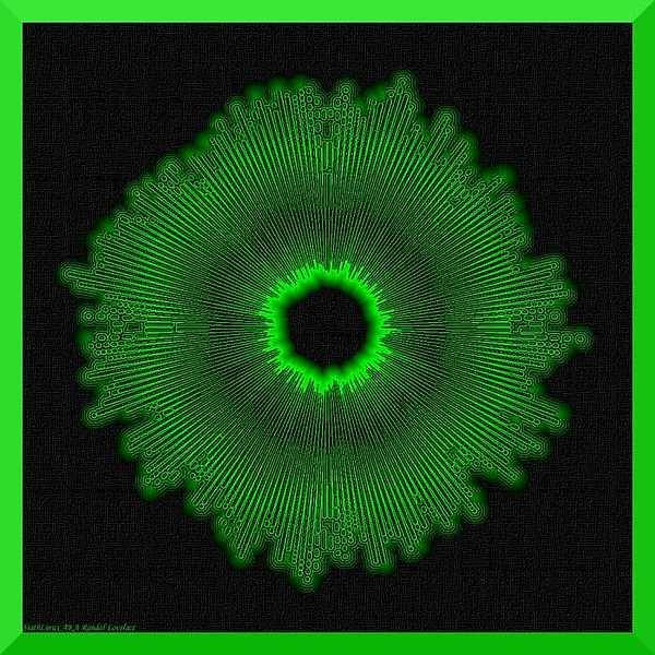 Fractal Digital Art - Alien Flower by Randal Lovelace