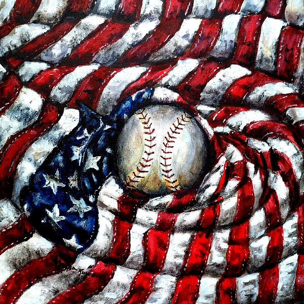 America Painting - All American by Shana Rowe Jackson