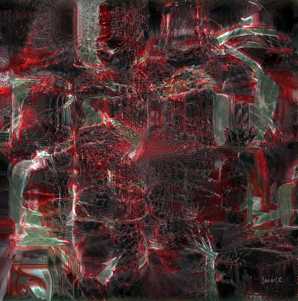 Fania Simon Digital Art - All Five Senses Are Filled With The Arts by Fania Simon