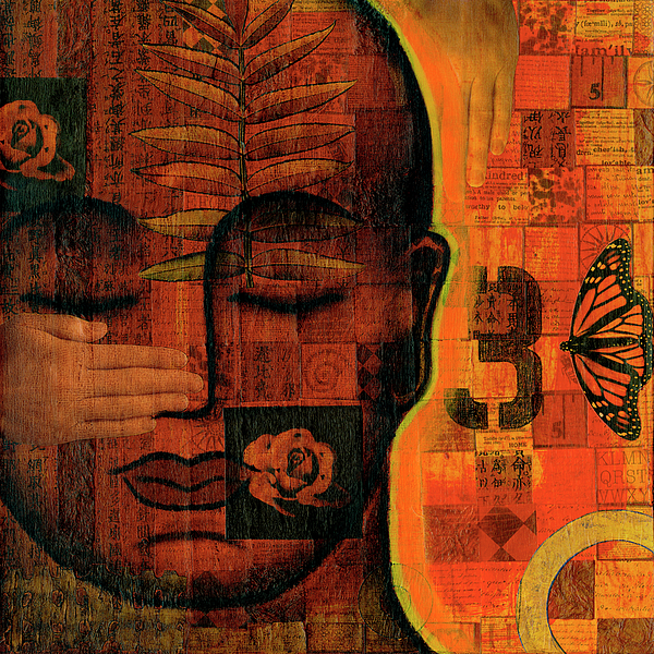 Buddha Painting - All Seeing by Gloria Rothrock