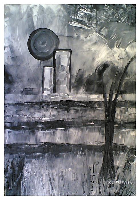 Fantasy Painting - Alla Fine by Carla Marino