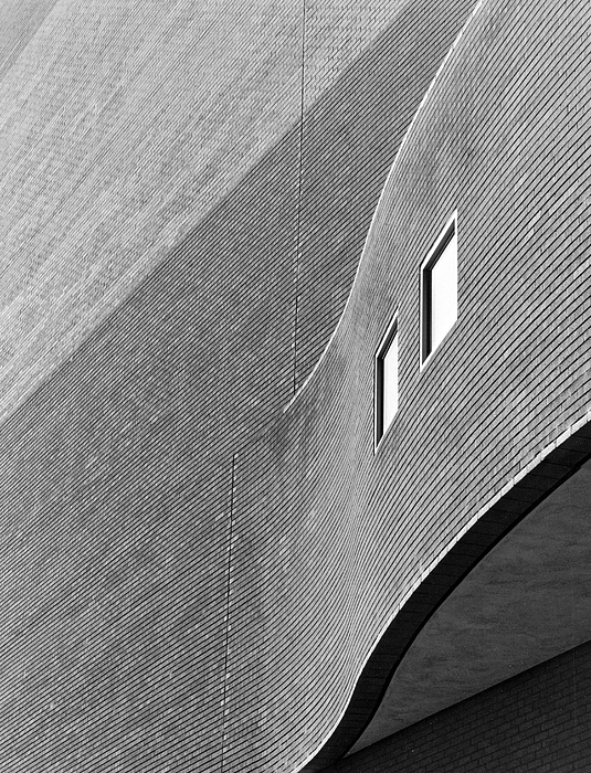 Architecture Photograph - Alley Behind Boettcher by Jim Furrer