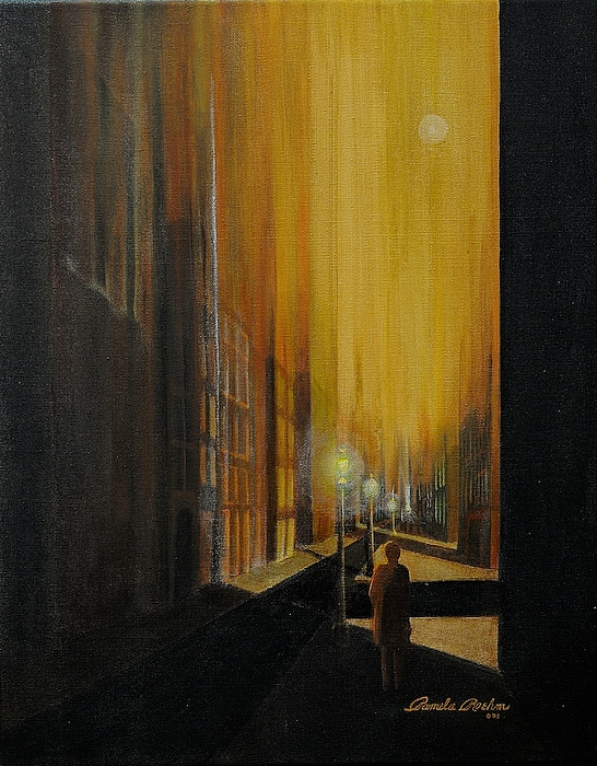 Architectural Painting - Allusion by Pamela Roehm