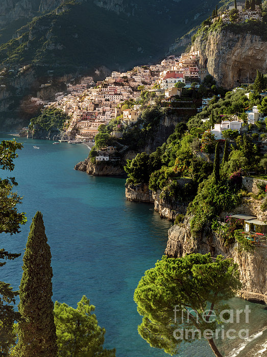 Amalfi Coast Photograph - Almalfi Coast by Brian Jannsen