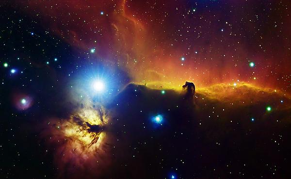 Alnitak Photograph - Alnitak Region In Orion Flame Nebula by Filipe Alves